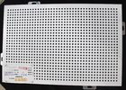 Acoustic Ceiling Tiles / Oblong Hole Perforated Stamped Metal Ceiling Panels