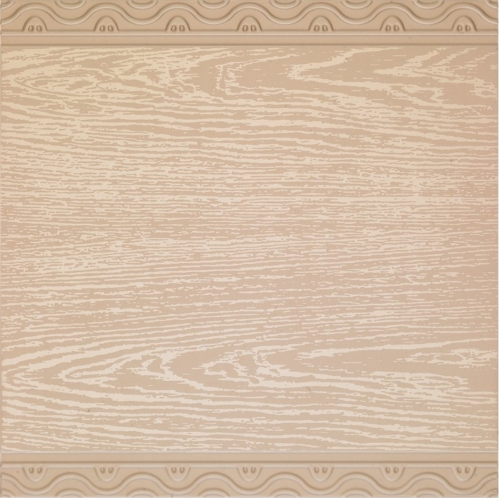 Ornament Artistic Suspended Ceiling Tiles Wooden Color For Shopping Malls